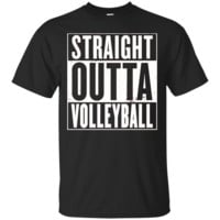 STRAIGHT OUTTA VOLLEYBALL Shirt