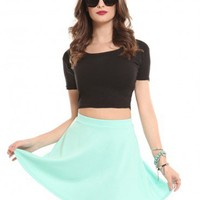 Skater Skirt - Mint - Clothes | GYPSY WARRIOR