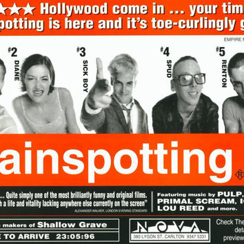 Trainspotting 11x17 Movie Poster (1996)