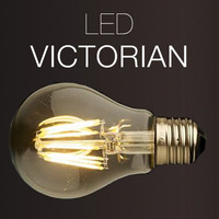 LED Victorian Antique Replica Filament Bulb