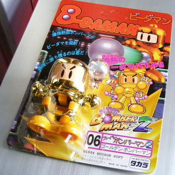 Takara 1994 Hudson Soft B-Daman Bomberman 2 No 06 Model Kit Action Figure