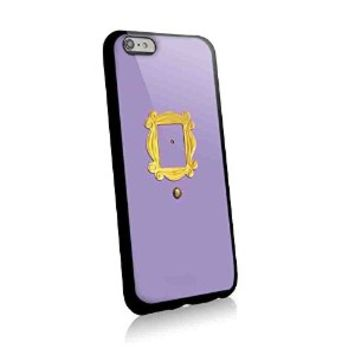 Monica's Peephole Door Friends Tv Show for Iphone and Samsung Galaxy Case (iphone 6 plus black)