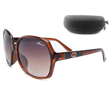 GUCCI Men Women Fashion Popular Summer Style Sun Shades Eyeglasses Glasses Sunglasses