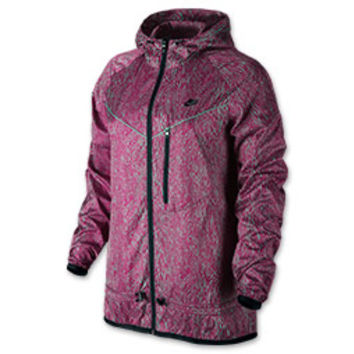 Women's Nike Windrunner Blacklight Flash Printed Jacket
