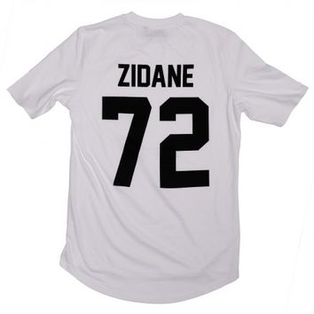 Zidane 72 Legends Shirt White - BALR.