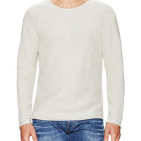 Won Hundred Men's Knit Crewneck Sweater - Grey -