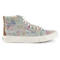 Vans hi-top floral trainers