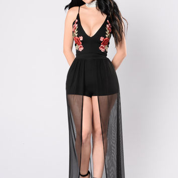 Can't Fade Away Dress - Black