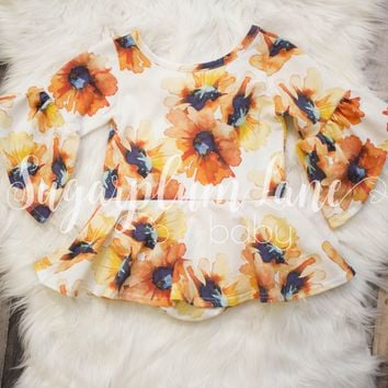 Sunflower Leotard- Customize ©