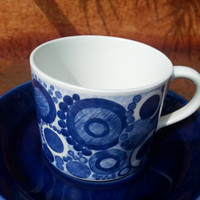 Rorstrand Sweden Pi cup and saucer.. 1956 -1969..