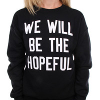 To Write Love on Her Arms Official Online Store - Hopeful Throwback Sweatshirt