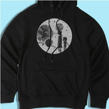 Rick And Morty Universe Rick And Morty Inspired Film Movie Cartoon 90S Men'S Hoodie
