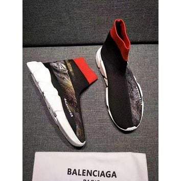 Balenciaga Speed Trainers Stretch Knit Sneakers Style #20 - Sale