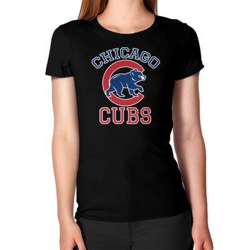 Cubs Baseball Team Chicago Allsex, Chicago cubs world series Women's T-Shirt