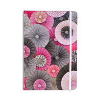 "Heidi Jennings ""Bubble Gum"" Pink Gray Everything Notebook"