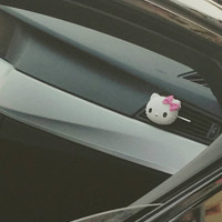 Hello Kitty* Handmade, Car vent clip, car air freshener, car interior, car accessory, car fragrance