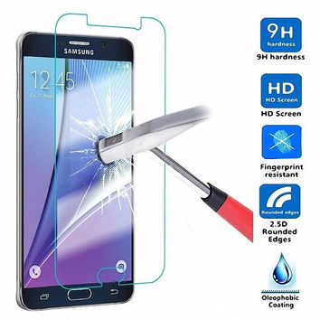 Tempered Glass Screen Protector film CASE For Samsung Galaxy note 2 3 Neo lite 4 5 Mega 2 6.3 5.8/Win Pro G3818 i8552