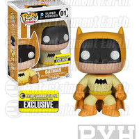 Funko Pop! Heroes: DC - Batman - Yellow - EE Exclusive - Vinyl Figure