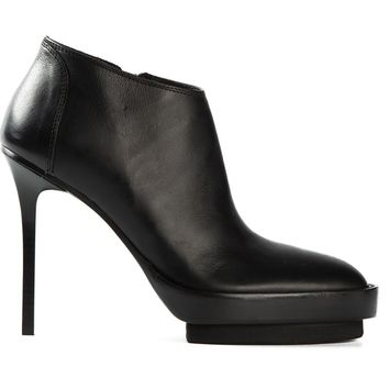 Ann Demeulemeester double platform ankle boots