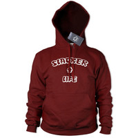 Slacker For Life Hoodie Men Womens Lazy Chill Hoody Funny Gift Street Slogan 343