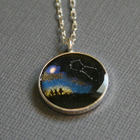 Constellation Necklace - Custom Made Space Science Jewelry