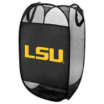 Licensed Lsu Tigers Official NCAA Laundry Hamper Fold Up Flip Open Forever Collectibles KO_19_1