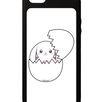 Cute Easter Bunny Hatching iPhone 5C Grip Case  by TooLoud
