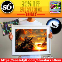 Don't miss out! 25% Off Everything Today! on BluedarkArt Society6 Shop!