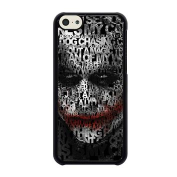 JOKER LEDGER FACE iPhone 5C Case