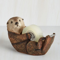 Dorm Decor Alma Otter Tape Dispenser by ModCloth