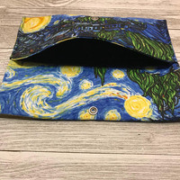 Starry Night Print Wallet