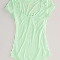 AEO Women's Every Wear Ruched T-shirt