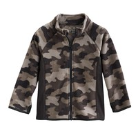 Jumping Beans Camo Fleece Jacket - Toddler