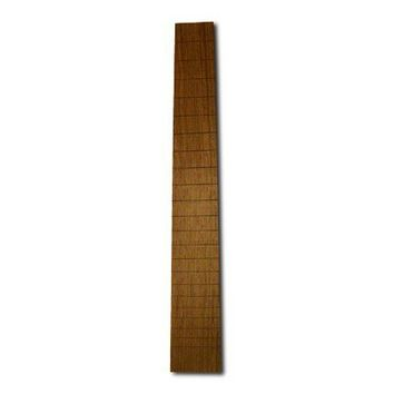 Handmade Slotted Wood Guitar Fretboard Blank - You Pick The Wood