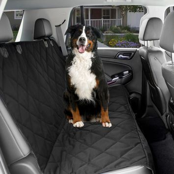 Dog Cover Car Back Seat Waterproof Heavy Duty Non Slip For Pets