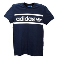 adidas Originals Heritage Logo Short Sleeve T-Shirt - Men's at Foot Locker
