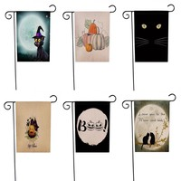 Garden Flag  12x18 inch  Halloween Weatherproof Decoration
