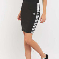 adidas Originals 3 Striped Black Skirt - Urban Outfitters