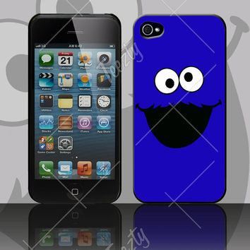 Elmo, Cookie Monster Sessame Street Characters Custom Phone Case iPhone 4/5 Galaxy S3/S4 Phone cases