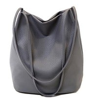 Handbag In Women Shoulder Bag Large Capacity Women Messenger Bag Causal Bucket Bag High Quality Tote