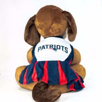 6671997d1 New England Patriots Dog Dress Cheerleader NFL Football Official