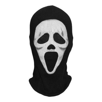 ESBON Scream Tactical Military Army Death Grim Reaper Ghost Party Halloween Costume Cosplay Winter Warmer Balaclava Full Face Masks