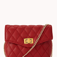 Quilted Crossbody | FOREVER 21 - 1000051212