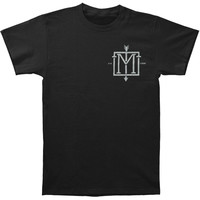 Menzingers Men's  Monograph T-shirt Black