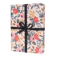 RIFLE PAPER CO. ROLL OF 3 BLUSHING ROSA WRAPPING SHEETS