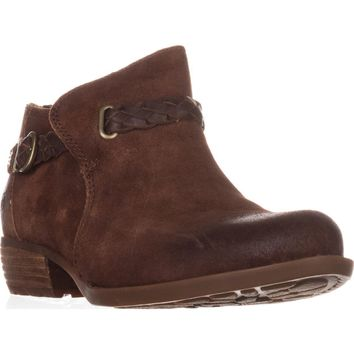 Born Sylvia Low Rise Western Ankle Boots, Rust, 6 US / 36.5 EU