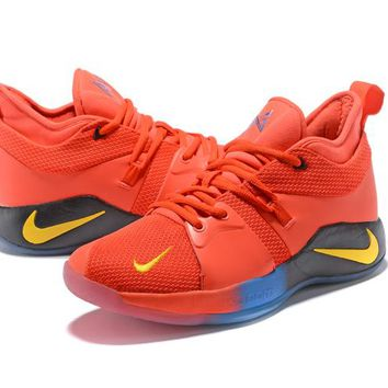 Nike Zoom Paul George PG 2.0 - Fluorescent Red