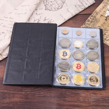 Russian Coin Album 10/20 Pages 40/150 Pockets Coin Holder Collection Book Collector Gifts Coin Album Book Pocket Photo Albums