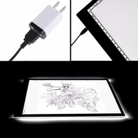 LED Tracing light Box Board Artist Tattoo A4 Drawing Pad Table Stencil Display