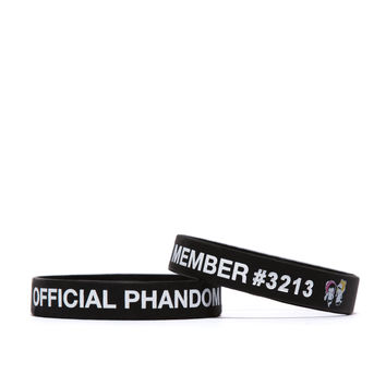 Official Phandom Member Wristband